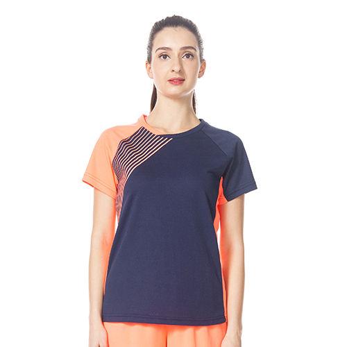 Ladies Printed Sports T-shirts