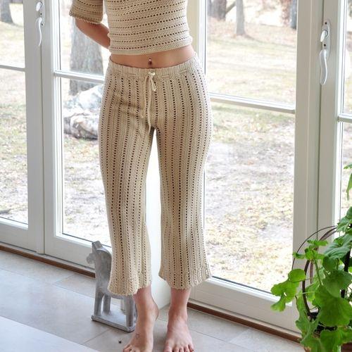 Ladies Crochet Pants