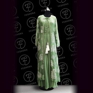 Modal Silk Gown