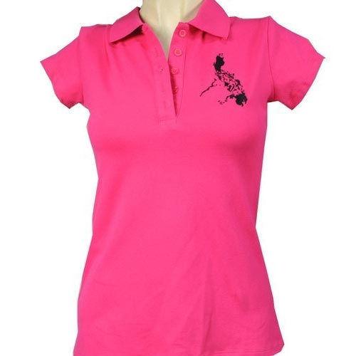Ladies Printed Polo T-shirts
