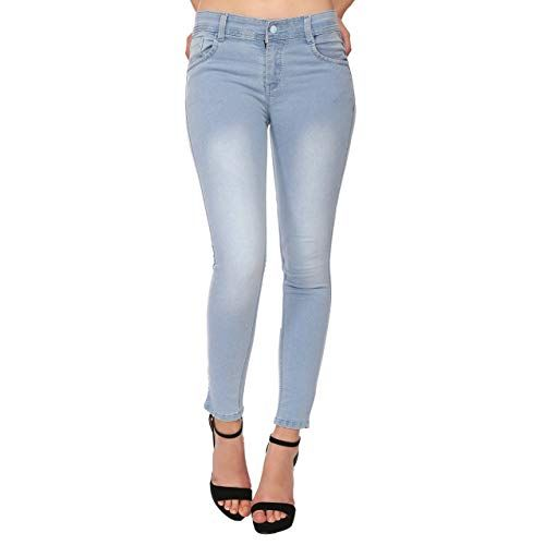 Ladies Cotton Denim Jeans