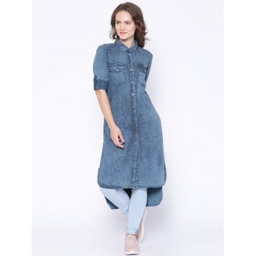 Ladies Denim Kurtis