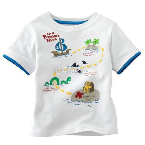 Kids knitted T-shirts