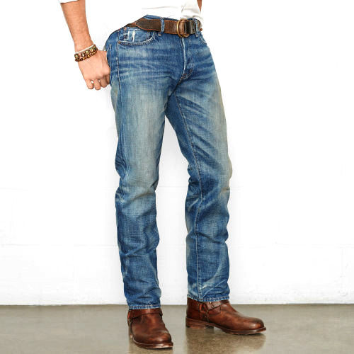 Men's Denim Jeans Pants