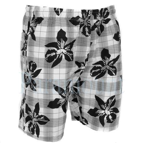 Men's Check Print Underwear