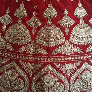 Ladies Velvet Bridal Dress