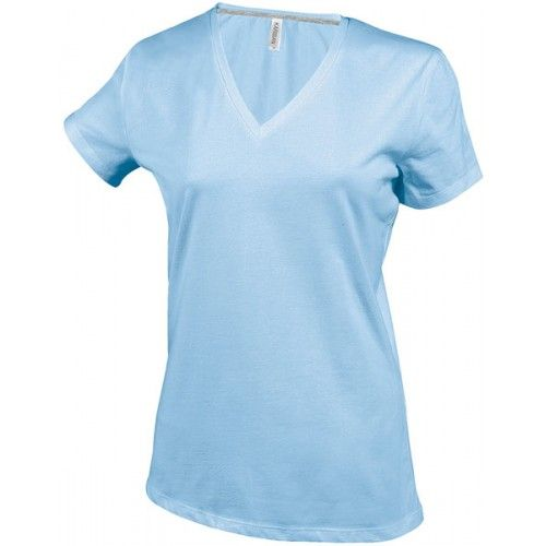 Ladies V- Neck T-Shirts