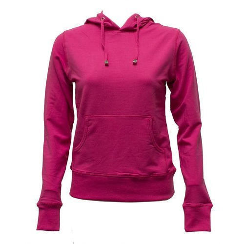 Ladies Plain Hoodies