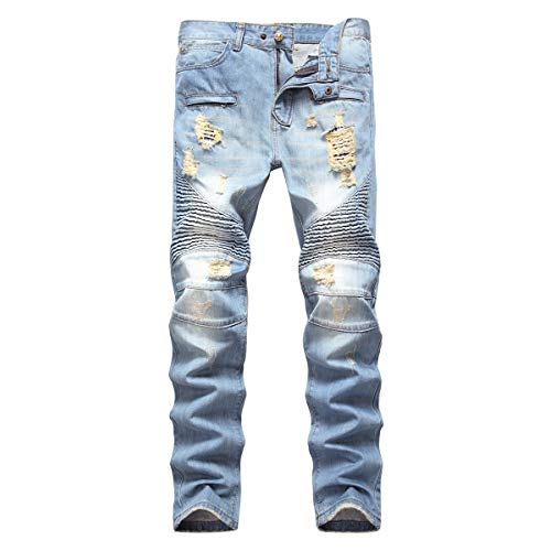 Men's Ripped Denim Jeans
