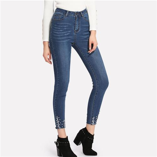 Ladies Denim Jeans