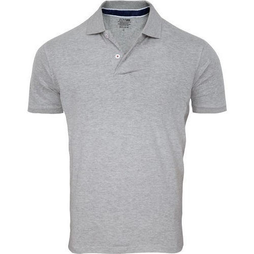 Men's Plain Polo Shirts