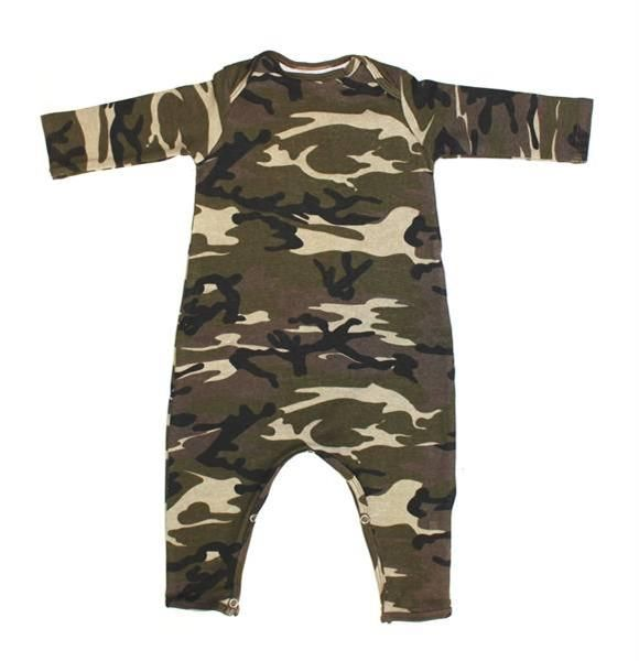 Boys Camouflage Rompers
