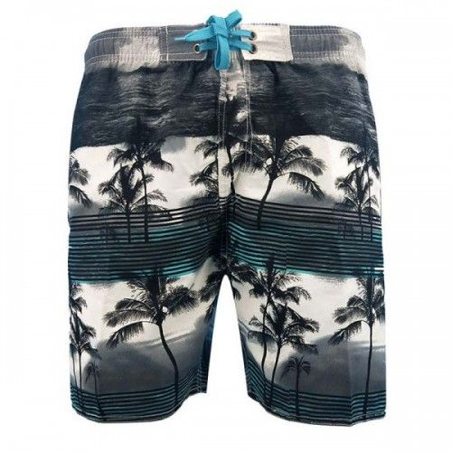 Men's Printed Beach Shorts