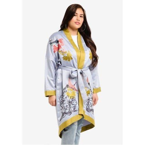 Women's Embroidered Kimono
