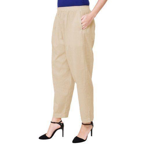 Ladies Plain Pants