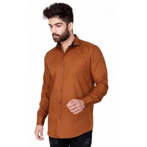 Men's Solid Plain Shirts