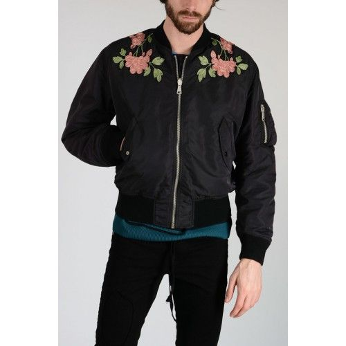 Men's Jacket with Embroidery