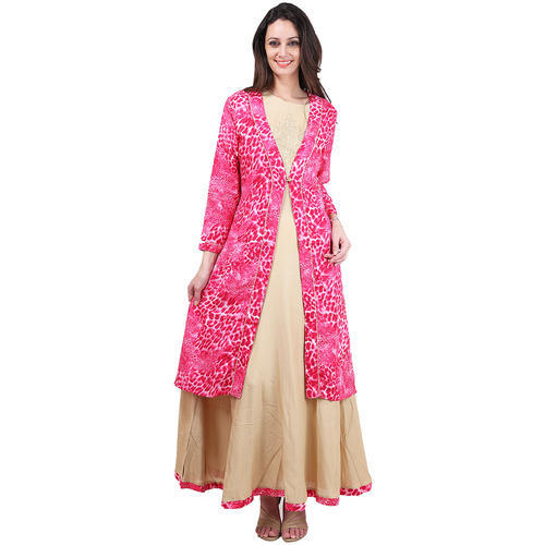 Ladies Printed Long Kurtis