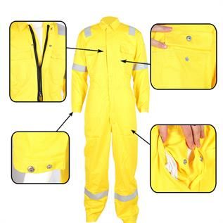 Flame Resistant Industrial Uniform