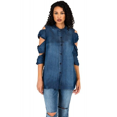 Ladies Denim Blouses