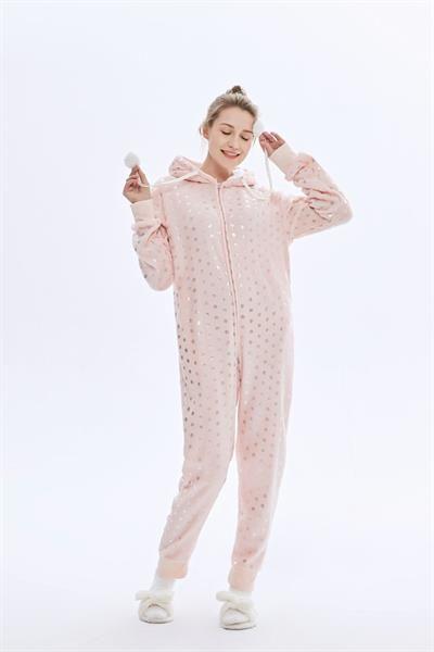 Women's Soft Flannel Jump Suit