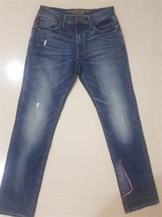 Men's Branded Skinny Stretch Jeans