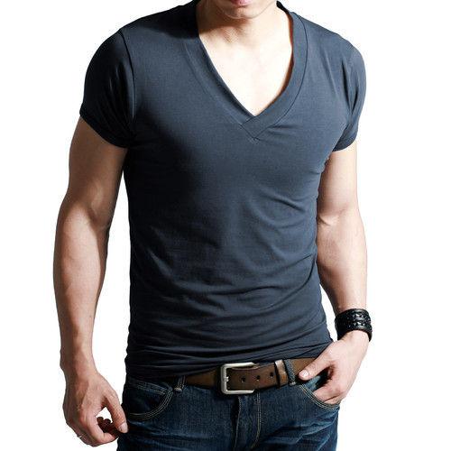 Men's V Neck T-shirts