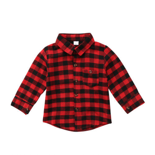 Kids Checked Shirts