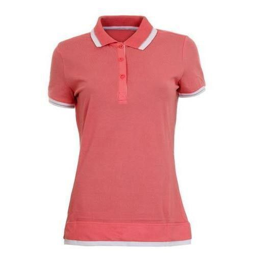 Women's Plain Polo Shirts