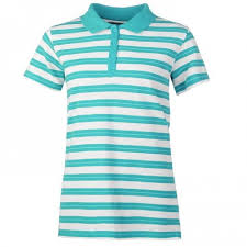 Ladies Plain Stripe Polo Shirts