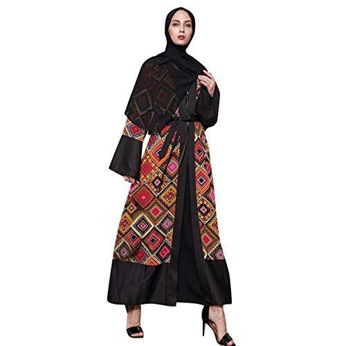Women's Printed Abaya