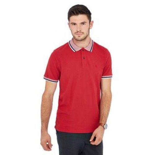 Men's Tipping Collar Polo-Shirts