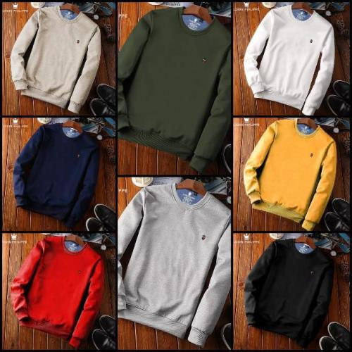 Men's Plain Sweatshirts