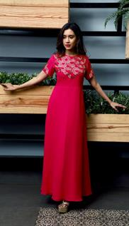 Full Length Georgette Gowns
