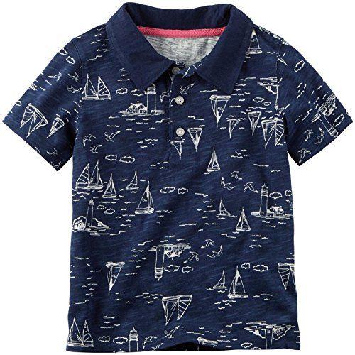 Kids Printed Polo shirts
