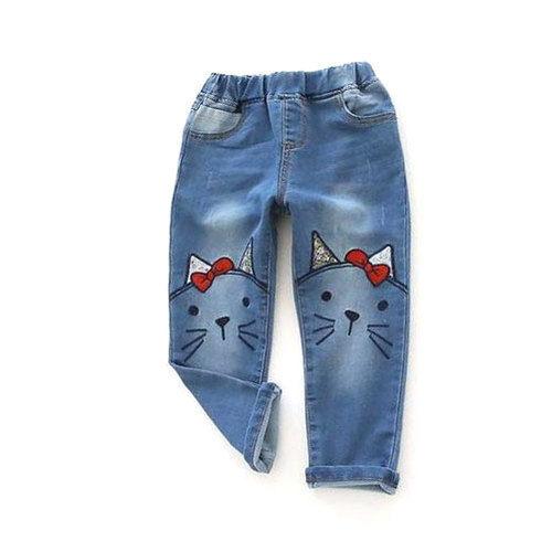 Kids Casual Jeans Pants