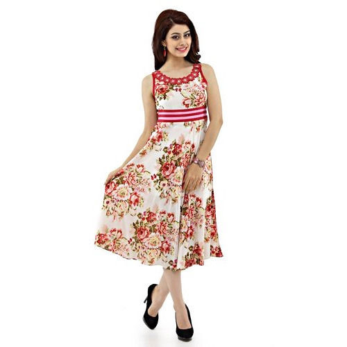 Ladies Printed Dress Suppliers - Wholesale Manufacturers and