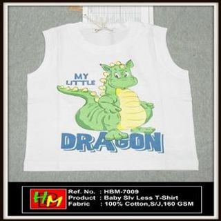 Kids Sleeve Less T-Shirts
