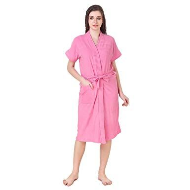 Women's Plain Bathrobes