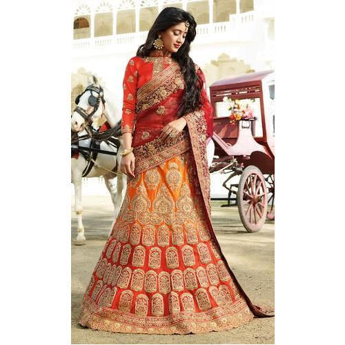 Women's Bridal Lengha Buyers - Wholesale Manufacturers, Importers