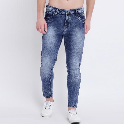 Ankle Fit Men's Denim Jeans