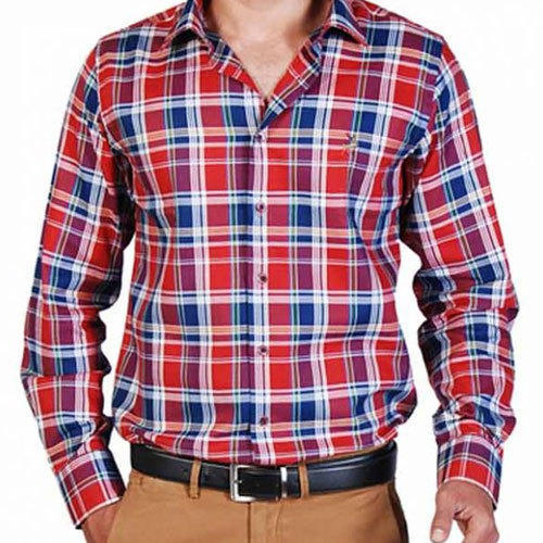 Men's Checked Shirts
