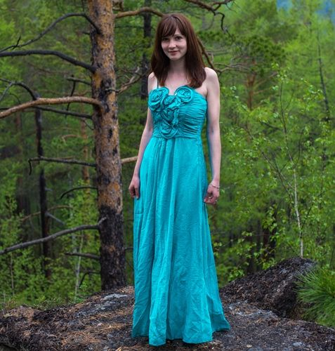 Ladies Western Gown