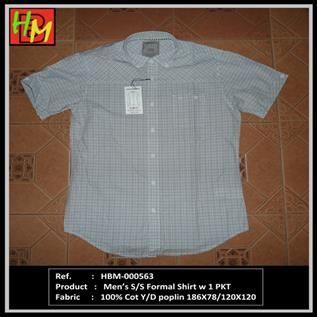 Men's S/S Formal Shirts