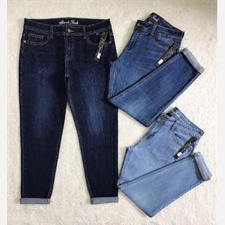 Ladies Plain Jeans