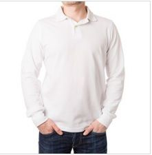 Long Sleeve T-shirt with Collar