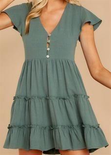 Cotton Cambric Dress
