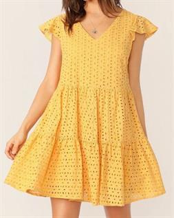Ladies Cotton Shiffli Dress