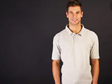 Men's Knitted Polo Shirts
