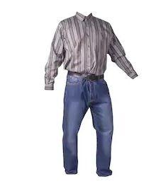 Men's Denim Long Pants